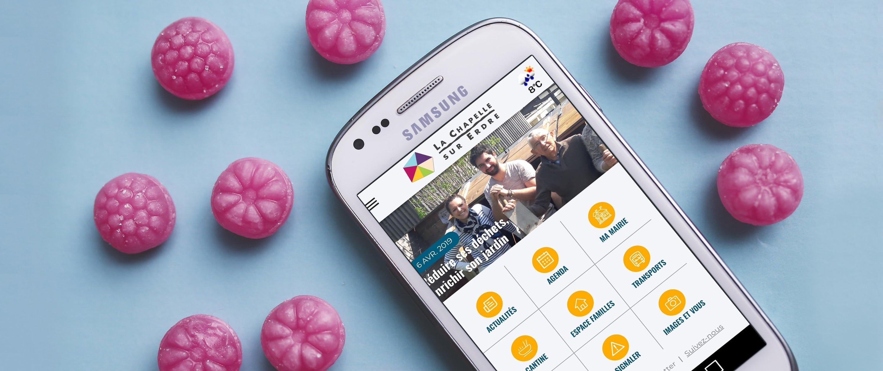 Application mobile La Chapelle sur Ordre