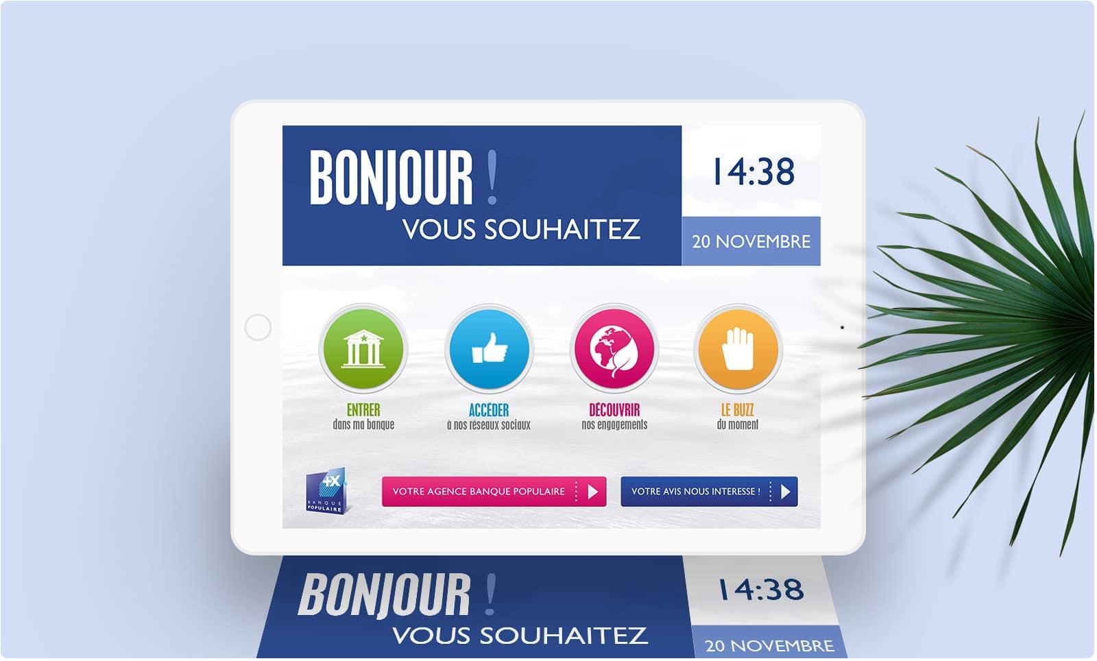 Banque Populaire : Application Mobile