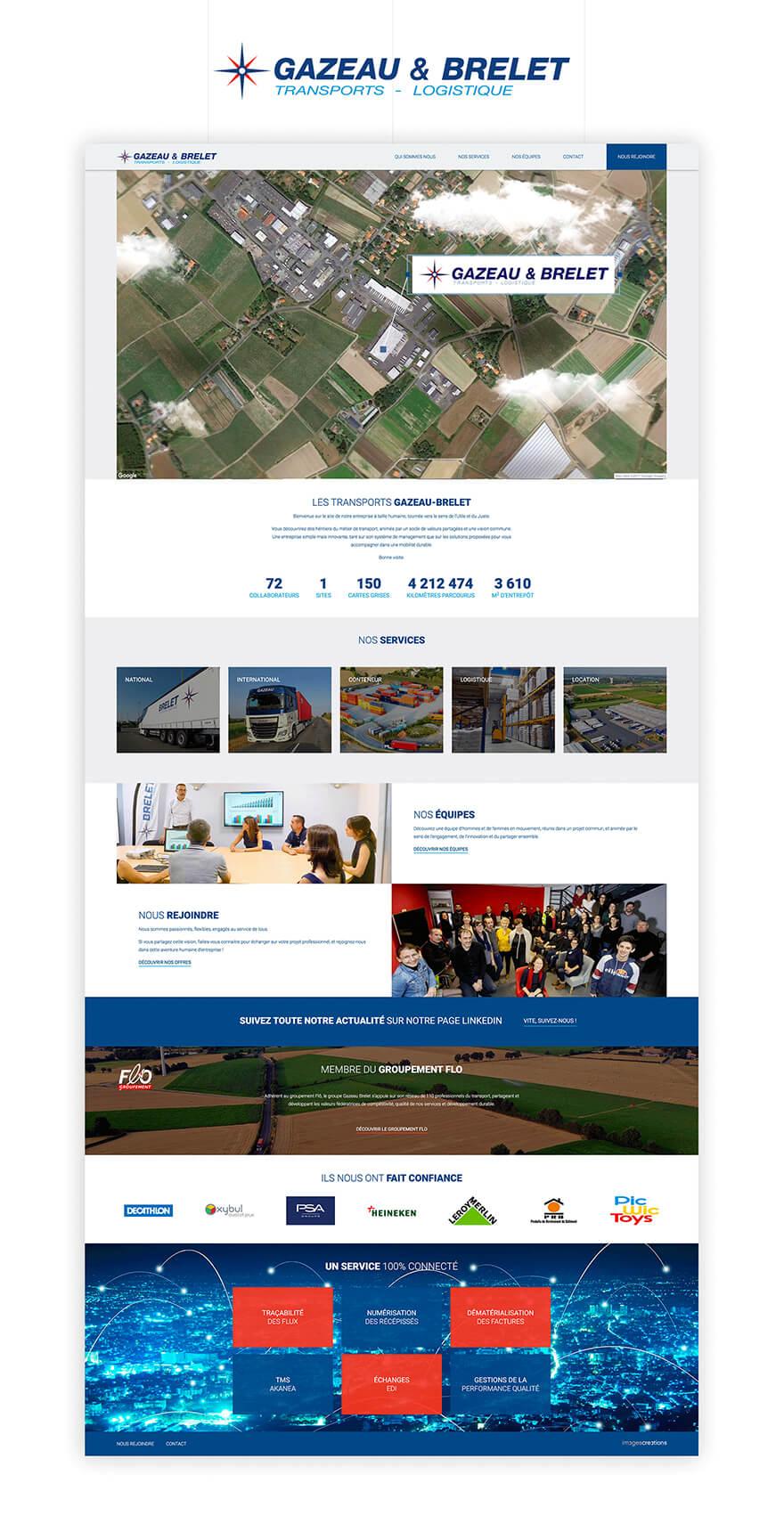 Gazeau site web