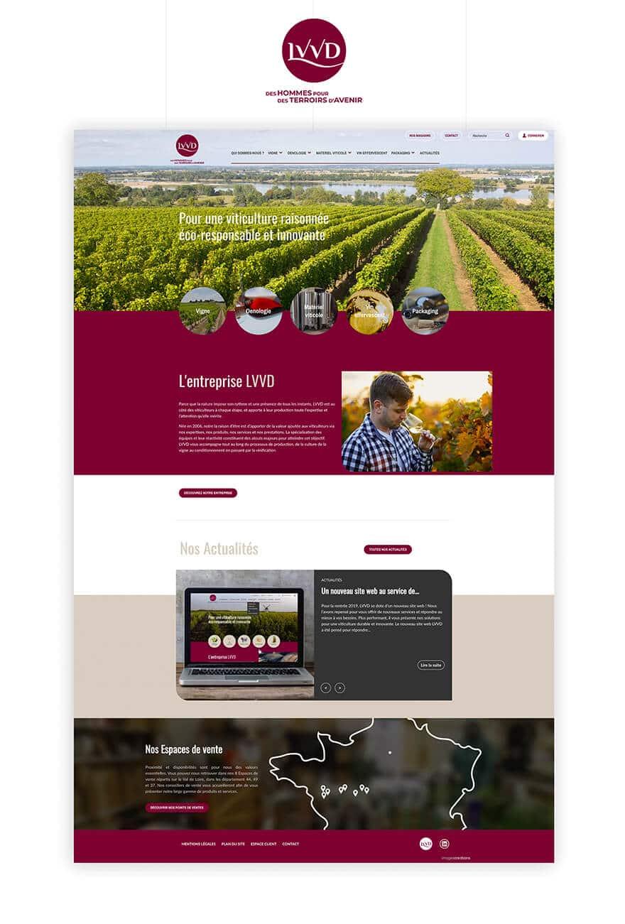 Site web LVVD