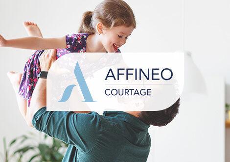 Site web Affineo Courtage