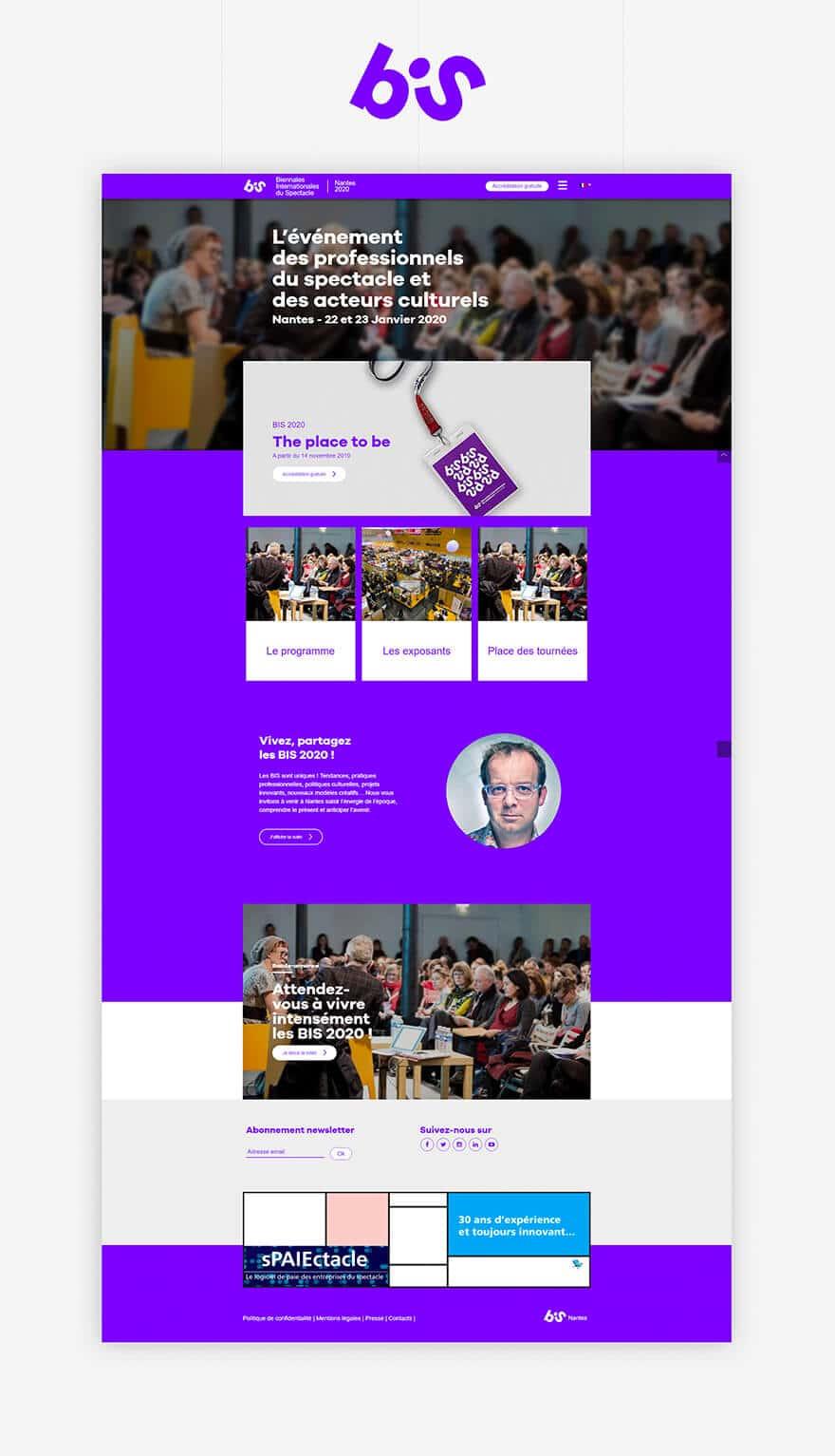 Site web Les bis 2020