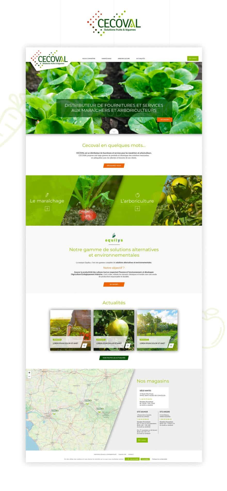 Site web Cecoval
