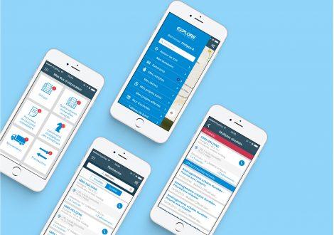 Application Mobile : Explore
