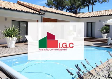 Site internet IGC Constructeur immobilier