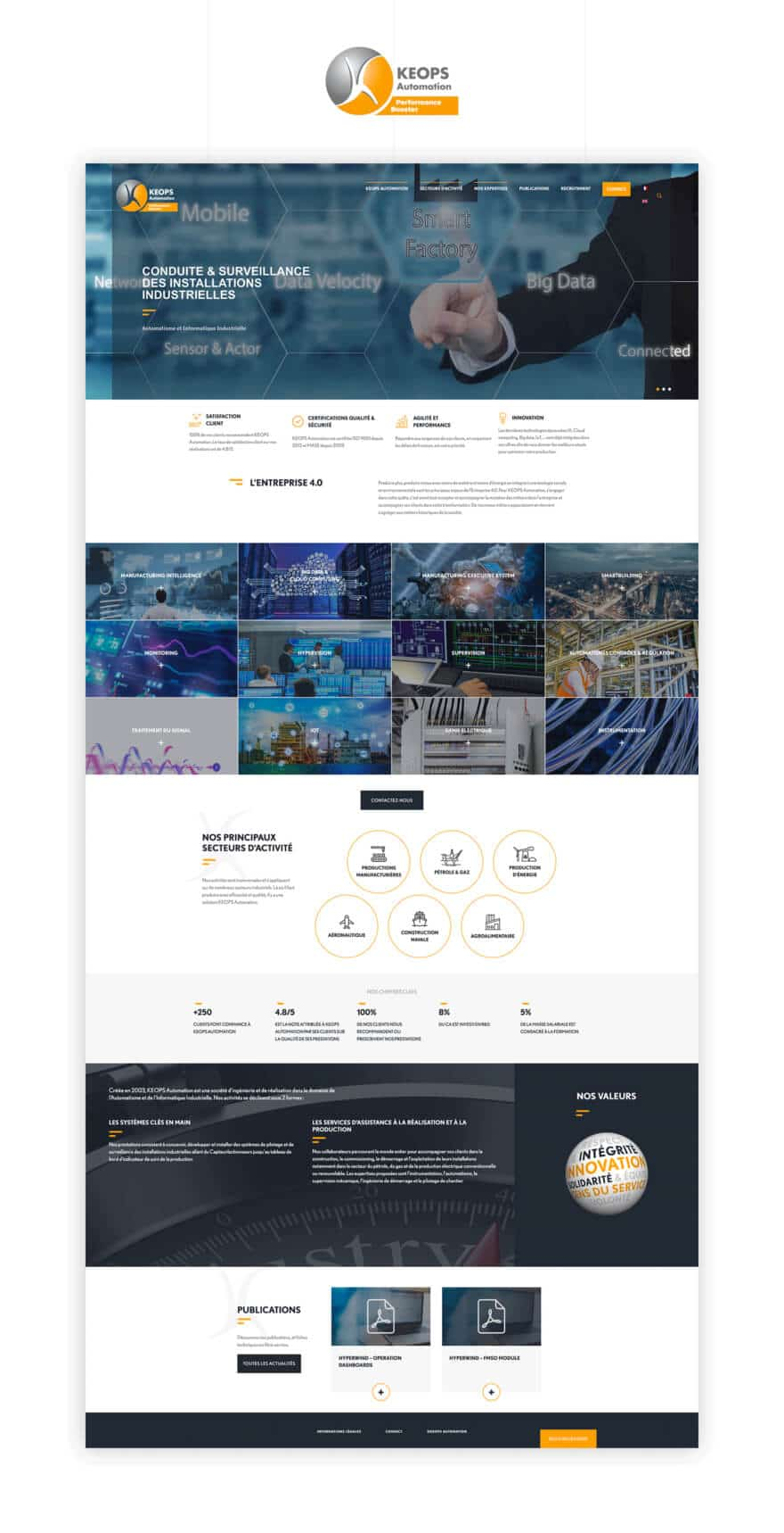 Site web Keops
