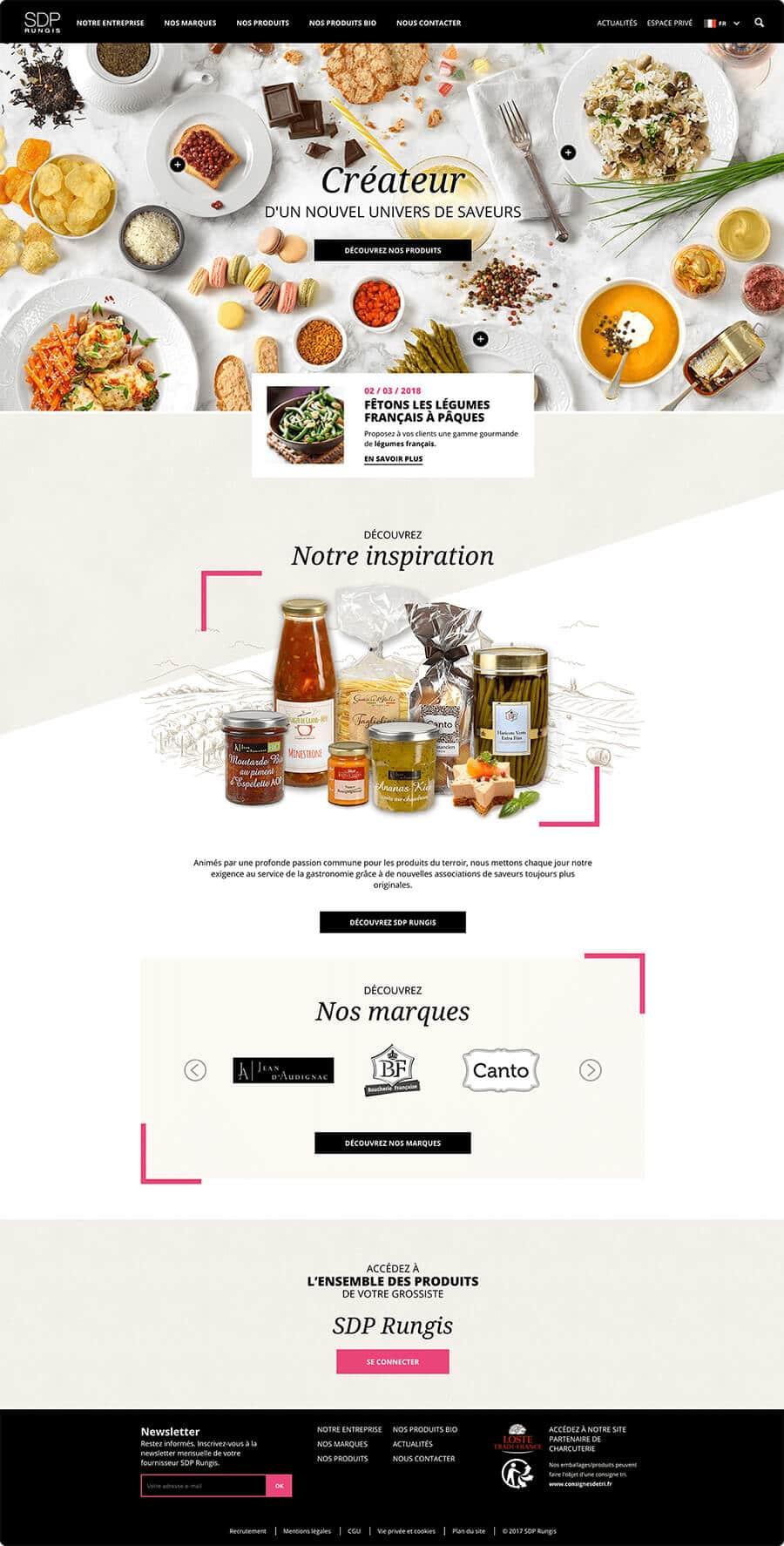 Site web SDP Rungis