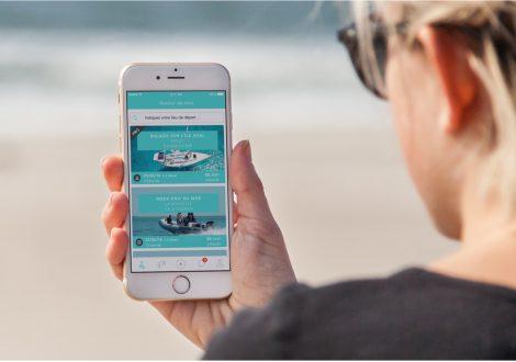 Sorties en mer : application ShareMySea