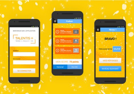 Application mobile Talentis Groupe La Poste